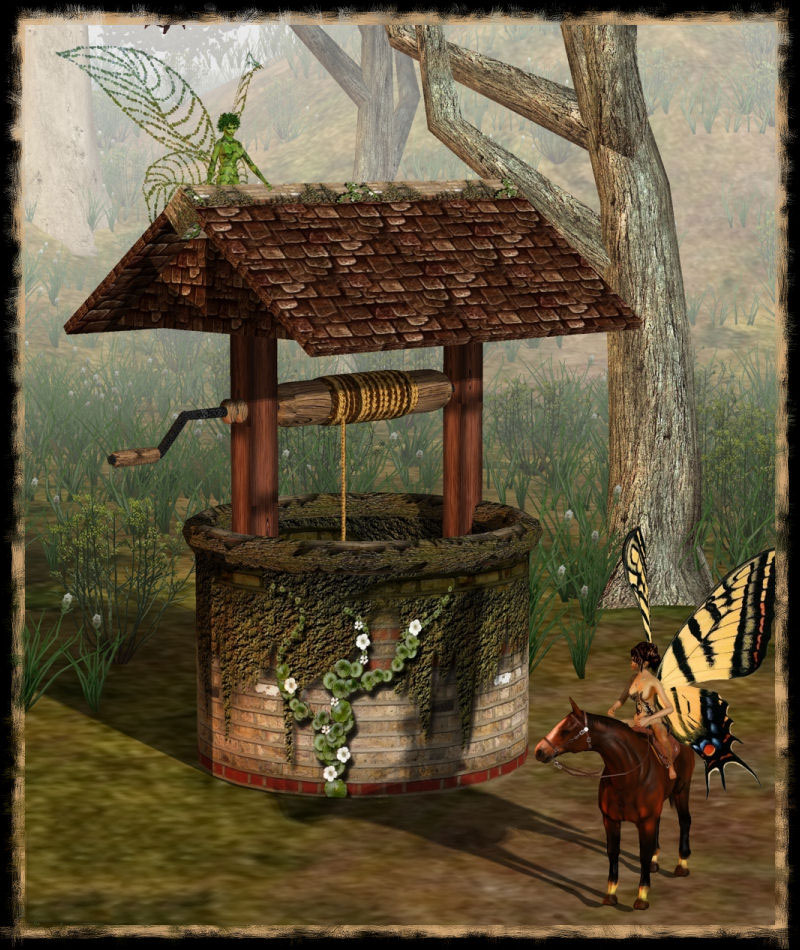 WISHING WELL - Click Image to Close